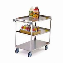 Lakeside 444 Utility Cart, 3-Tier, Open Base, 500 Lbs Capacity, 21