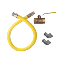 Gas Connector Kit. This gas connector kit includes a 3/4