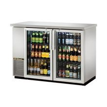 TRUE TBB-24-48G-S-HC-LD Back Bar Cooler, two-section, 24