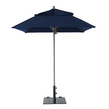 Grosfillex 98666031 Windmaster Umbrella, 6-1/2 ft., square top, 1-1/2