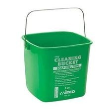 BUCKET 3QT GREEN SOAP SOLUTION 12EA/CS