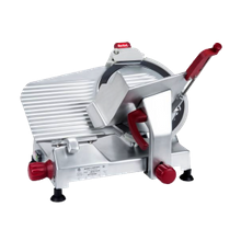 Berkel 827E-PLUS Slicer, manual, angled gravity feed, one-speed, 12