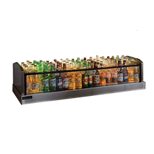 Perlick GMDS14X48 Glass Merchandiser Ice Display, bar, 14