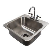 Advance Tabco DI-1-168 Drop-In Sink, 1-compartment, 16