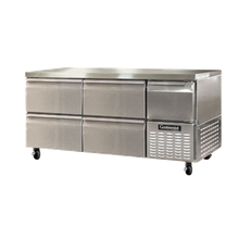 Continental CRA68-D Refrigerated Base Worktop Unit, 68