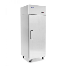 Atosa MBF8001 Atosa Reach-In Freezer, one-section, self-contained refrigeration, 22.6 cu. ft. capacity