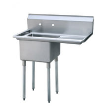 Atosa MRSA-1-R MixRite Compartment Sink, 1-Compartment, 39