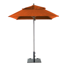 Grosfillex 98661931 Windmaster Umbrella, 6-1/2 ft., square top, 1-1/2