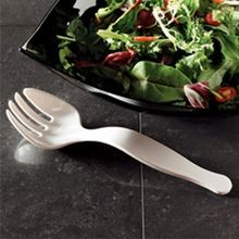 FORK PLASTIC SERVING 9