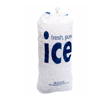 Follett 116434 Ice Bags, 8 lb, 125 bags per wicket, 8 wickets per case, 1.25 mil. Poly bag