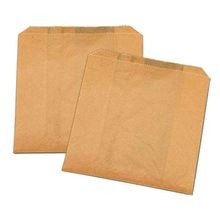 SANDWICH BAG PAPER 6X6 KRAFT GREAS RESISTANT (1000)