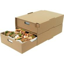 CATERING TRAY LARGE CORRUGATED BOX 20.25X13.75X4.75 (15)