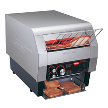 Hatco TQ-800 Toast-Qwik Conveyor Toaster, horizontal conveyor, countertop design, all bread types toaster, approximately 14 slice capacity/min