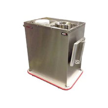 Carter-Hoffmann BH3S Convection Base Heater, 3-silo, capacity (180) bases or (225) plates, 208v/60/1-ph, 4800 watts, 23.1 amps, cord with NEMA 6-20P, cULus