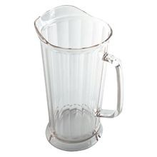 PITCHER 64 OZ CLEAR TAPERED POLYCARBONATE