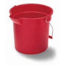 BUCKET ROUND 14QT RED