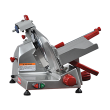Berkel 825E-PLUS Slicer, manual, angled gravity feed, 10