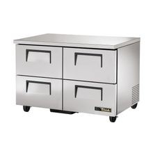 TRUE TUC-48F-D-4-HC Undercounter Freezer, -10 F, stainless steel top & sides, (4) drawers each, accommodate 12