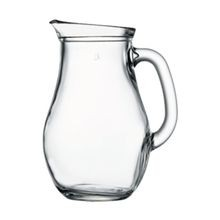 PASABAHCE PITCHER 33-1/4 OZ W/HANDLE CLEAR GLASS 6EA/CS