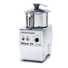 Robot Coupe BLIXER 5V Blixer, Commercial Blender/Mixer, vertical, 5.5 qt. capacity, stainless steel bowl with handle, stainless steel