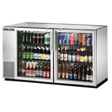 TRUE TBB-24GAL-60G-S-HC-LD Back Bar Cooler, two-section, 24