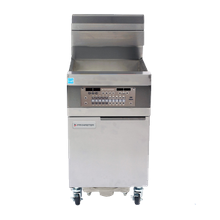 Frymaster 11814GF Fryer, gas, floor model, 63 lb. oil capacity, 18