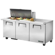 TRUE TSSU-72-18M-B-HC Mega Top Sandwich/Salad Unit, (18) 1/6 size (4