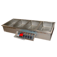 APW HFW-6 Hot Food Well Unit, drop-in, electric, (6) 12