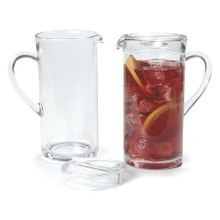 PITCHER 58 OZ PLASTIC CLEAR ELAN 6/CS