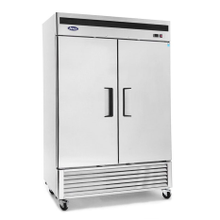 Atosa MBF8503 Atosa Reach-In Freezer, two-section, self-contained refrigeration, 46.0 cu. ft. capacity