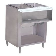 Advance Tabco WB-2G-LP-BS Water Bath Hot Food Table, LP gas, 31-13/16