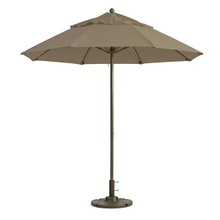 Grosfillex 98818131 Windmaster Umbrella, 9 ft., round top, 1-1/2