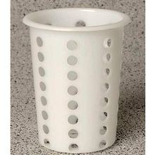 SILVERWARE CYLINDER POLY PERFORATED