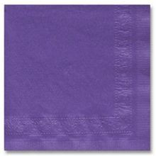 NAPKIN BEVERAGE PURPLE 2 PLY (1000)