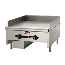 Wells HDG-2430G Griddle, countertop, natural gas, 23