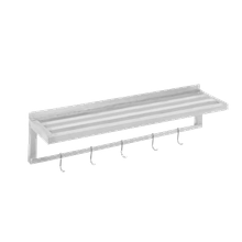 Channel TWS1248 Shelf, wall-mounted, tubular, 48