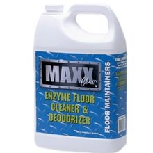 FLOOR CLEANER AND DEODORIZER WITH ENZYMES MAXX 4/1 GAL