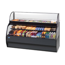 Federal SSRSP-7752 Specialty Display Sandwich or Salad Prep Merchandiser with Refrigerated Self-Serve Bottom, 77