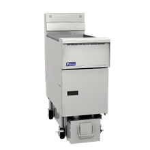 Pitco SE14S-1FD Solstice Prepackaged Fryer System with Solstice Solo Filter System, electric, (1) 40-50 lb. oil capacity full tank, solid state