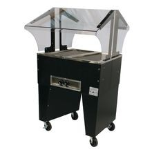 Advance Tabco B2-120-B Portable Hot Food Buffet Table, electric, 31-13/16