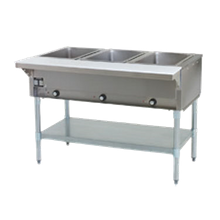 Eagle HT3-LP-1X Hot Food Table, liquid propane, open base, 48
