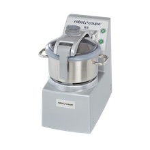 Robot Coupe R8 ULTRA Cutter/Mixer, vertical, 8 qt. stainless steel bowl with handle & see-thru lid, includes 3-1/2 qt. stainless steel mini bowl