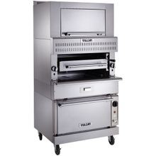 Vulcan VIR1SF V Series Deck-Broiler, Heavy Duty range match, Gas, single-deck infrared burners, 25-1/2