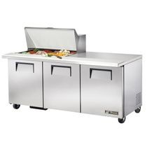 TRUE TSSU-72-15M-B-HC Mega Top Sandwich/Salad Unit, (15) 1/6 size (4