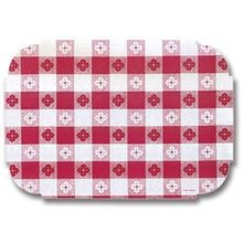 PLACEMAT RED GINGHAM (1000)