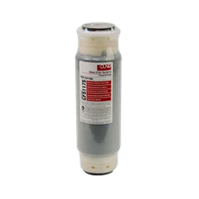 FMP 117-1206 Cuno Water Filter Cartridge, for reduction of chlorine, tastes & odors, sediment reduction to 5 micron, built in scale inhibitor