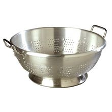 COLANDER ALMUMINUM 16 QT STANDARD WEIGHT 6/CS