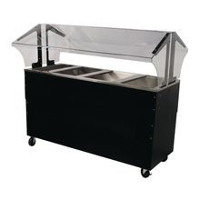 Advance Tabco B4-CPU-B-SB Ice Cooled Portable Food Buffet Table, 62-7/16