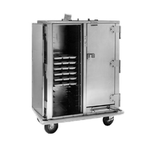 Carter-Hoffmann PH1420 Heated Cabinet, HD correctional features, mobile, for compartment trays, insulated with bottom-mounted heater assembly