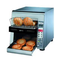 Star QCSE2-600H Star Qcs Conveyor Toaster, Electric, 600 Slices/Hr., Horizontal Conveyor, Programmable Electronic Controls For Conveyor Speed